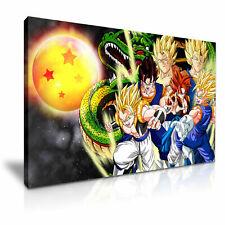DRAGON BALL Z Son Goku canvas wall art Wood Framed Ready to Hang XXL