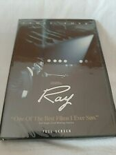 New listing Ray (Dvd, 2005, Full Frame) Jamie Foxx Brand New Sealed Free Shipping