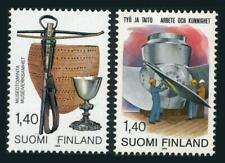 Finland 691-692,MNH.Michel 942-943. Museum Peaces,1984.Work and Skill.