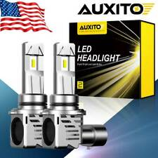 AUXITO Pair 9006 HB4 LED Headlight 24000LM Kit Mini Bulb 6500K 200W LOW BEAM 12V