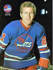 1975 Winnipeg Jets Home vs Toronto Toros WHA World Hockey Assn Program