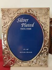 Silver Plated Photo Frame 8x10
