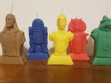 Starwars episode 1  candle/cake topper handemade x 5