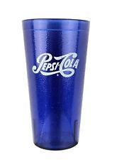 Cobalt Blue Carlisle Plastic Restaurant Pepsi Cola Cup 20 oz