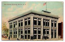 Early 1900s Star-Gazette Building, Elmira, NY Postcard *5J11
