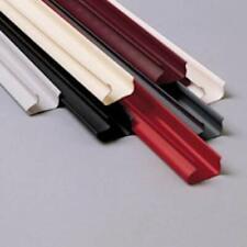 Plastic Slatwall Snaps in Light Gray 8 Feet Long - Pack of 48