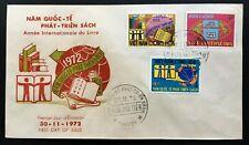 [10191] South Vietnam FDC 1972 International Year of Book Development
