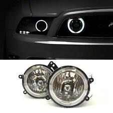 For 2005-2009 Ford Mustang Gt Clear Halo Led Fog Lights Driving Lamps Switch