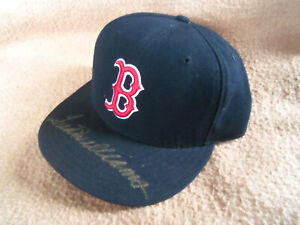 Ted Williams autographed cap