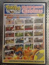Rare POKEMON WORLD: ALL BEST CHRISTMAS 2007 GAMES ON ONE DVD! Came With Issue 72