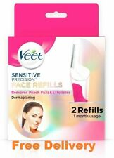 Veet  Sensitive Precision Dermaplaning Face  MONTHLY REFILL REPLACEMENT Pack