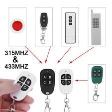 Universal 315MHz/433MHz Wireless Copy Cloning Garage Remote Control Duplicator