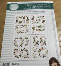 Tattered Lace Ring Around A Posy Charisma Pack Card Toppers
