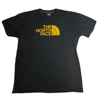 The North Face Logo T Shirt Dark Heather Gray Size Extra Large