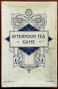 Afternoon Tea Game. Vintage Card Games C. G. & S. Ltd. (Chas Goodall and Son)