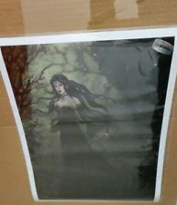 "Nene Thomas Witch Wood Witchwood Fairy Limited Edition Signed 417/2000 13x17"""