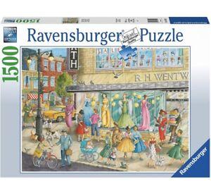 Ravensburger SIDEWALK FASHION Jigsaw Puzzle - 1500 pc Fashion - FREE UK P&P