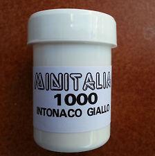 MINITALIA MODELTRENO COLORE GIALLO INTONACO QUARZATO FS art. MI 1000