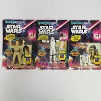*NEW* LOT of 3! Star Wars Bend-EMS Action Figure w/ Limited Edition Trading Card