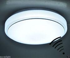 15W PIR Microwave Motion Sensor LED Ceiling Light Automatic Lamp switch AC 220V