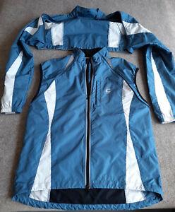 Cannondale Cycling Jacket Morphis Vest Windbreaker Bike Rain Adult size Large