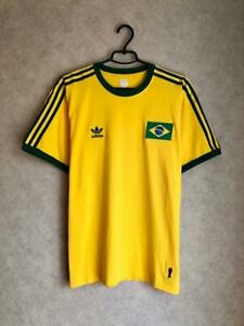 Brazil adidas originals World Cup 1974 football shirt jersey