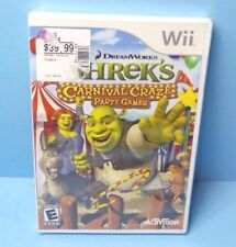 Shrek's Carnival Craze Party Games Wii 2008 BRAND NEW FACTORY SEALED