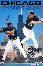 FRANK THOMAS and ROBIN VENTURA 1995 Chicago White Sox Starline Baseball POSTER