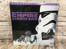 New Sealed STAR WARS The Empire Strikes Back Laserdisc Widescreen Edition THX