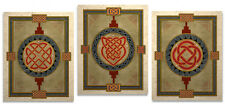 Three Celtic Knot Design Art Prints