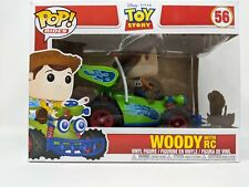 Pop! Rides Woody with Rc Toy Story Vinyl Figure funko number 56 disney
