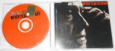 "JOE COCKER - NEVER TEAR US APART ""1 Track Promo"" - Cd Single.."
