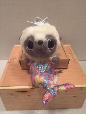 Yoohoo & Friends Mermaid  Plush Doll Glitter Eyes *Rare!