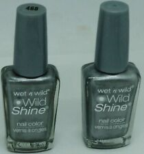 2 Original Wet n Wild WILD SHINE Nail Polish METALLICA  #468 Discontinued