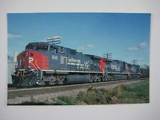Southern Pacific GE Dash9-44CW Roller-Blade #8140 Wisconsin 1994 Train Postcard