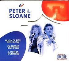 PETER ET SLOANE BESOIN DE RIEN ENVIE DE TOI - ERIC CHARDEN / DE SUZA - CD ALBUM