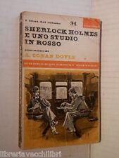 UNO STUDIO IN ROSSO Arthur Conan Doyle Casini 1966 libro romanzo giallo racconto