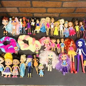 Lot Of Barbie Little Sister Chelsea Doll Kelly Chelsea club Dolls & Others As Is