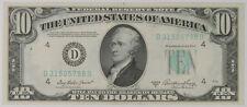 1950-A $10.00 FEDERAL RESERVE NOTE: D-CLEVELAND, D-B BLOCK, FR-2011D CH CU