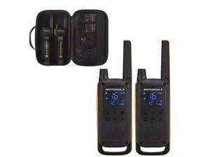 Motorola Walkie Talkie T82 EXTREME Twin Pack Two Way Radio Licence Free PMR446