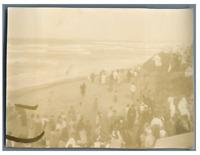 Algérie, Alger (الجزائر), Fête nègre  Vintage citrate print. Ecriture au dos