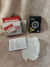 New listing Qwik Time Quartz Metronome 1997