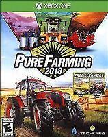 Pure Farming 2018 (Microsoft Xbox One XB1) Brand New Factory Sealed