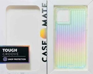 CASE-MATE TOUGH GROOVE 10ft Drop Protection Iridescent For iPhone 11 / XR #278