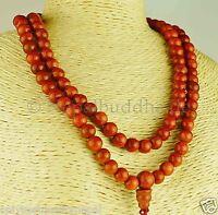 Sunstone Mala Halskette Goldfluss Perlenkette Nepal 13c
