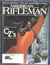 Magazine American Rifleman, OCTOBER 2001 !!! ROSSI MATCHED PAIR GUN !!!