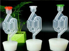 New listing 3X Bubbler Airlock Traps and Bungs For Home Brew Wine Making Ferment Auto