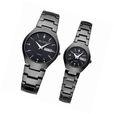 JSDDE Wrist Watch for Lovers/Couples Dress Wrist Analog Quartz Waterproof
