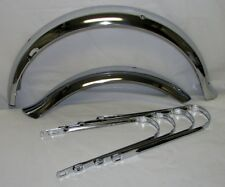 """NEW BICYCLE FENDER SET for 16"""" BIKE DUCKTAIL CRUISER LOWRIDER CHOPPER CYCLING"""