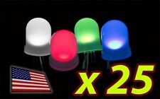 [25x] 10mm RGB LED Diffused Lens Common ANODE - LARGE